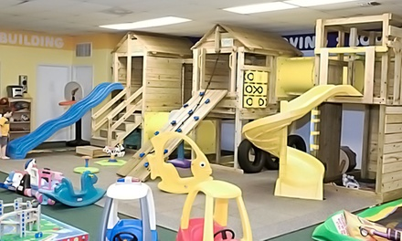 Open-Play Sessions or Week-Long Camp Session at Play Plus for Kids (Up to 50% Off). Three Options Available.