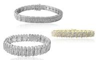 GROUPON: 1.00 CTTW Diamond Bracelets  1.00 CTTW Diamond Bracelets
