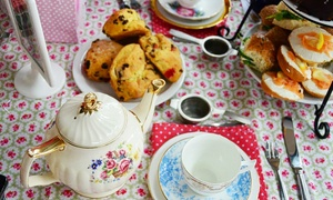Nettle Hill: Vintage Afternoon Tea For Two or Four from £24 or with Prosecco from £29.50 at Nettle Hill
