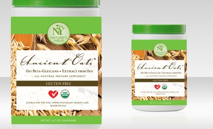 Nature's Yield Ancient Oats Powdered Supplement