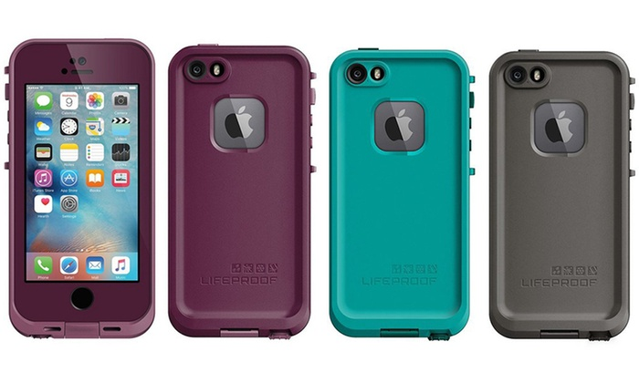big sale 6b0c1 91f91 LifeProof FRE Series Waterproof Case for iPhone 5/5s/SE | Groupon