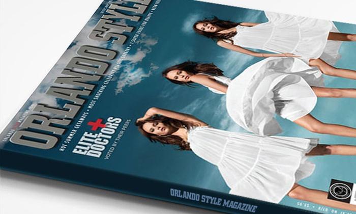 """Orlando Style Magazine: One- or Two-Year """"Orlando Style Magazine"""" Subscription (48% Off)"""