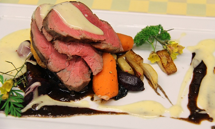 Bogner's of Penticton - Penticton: Chef Designed Farm-to-Table Dinner for Two or Four at Bogner's of Penticton (Up to 45% Off)