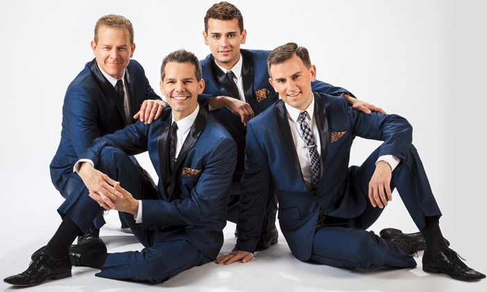 """""""The Midtown Men: Holiday Hits"""" - Wilmington: The Midtown Men at DuPont Theatre on Saturday, December 14, at 2 p.m. (Up to 41% Off)"""
