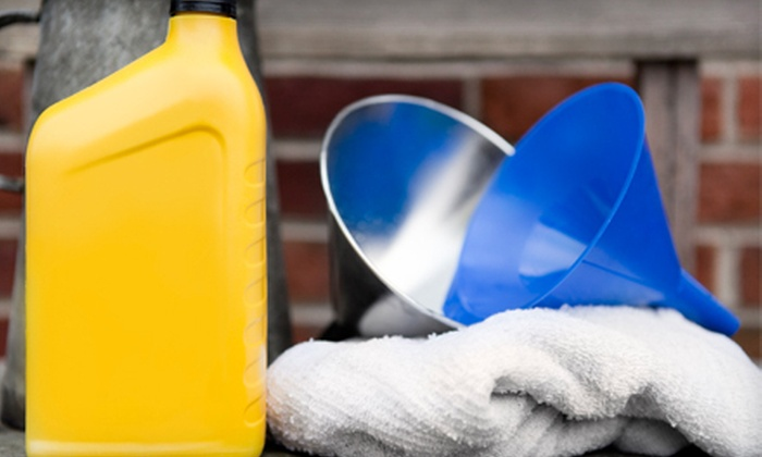 Fastline Auto - Grandview-Woodland: One or Three Oil Changes with 40-Point Inspections at Fastline Auto (Up to 69% Off)