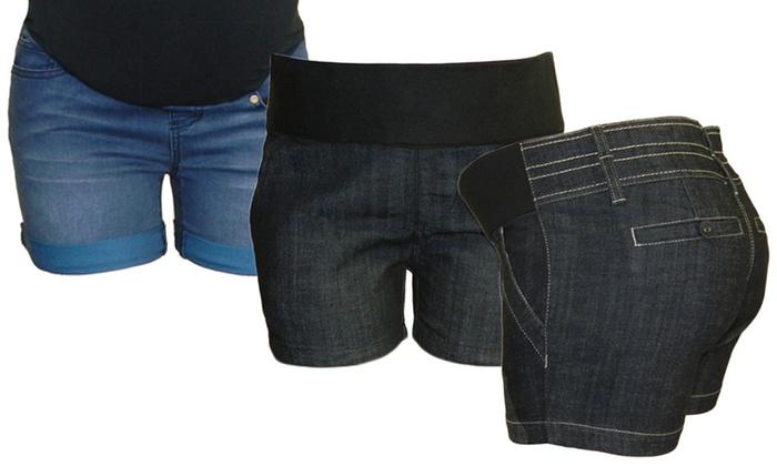 b57a82722 Bella Vida Maternity Shorts | Groupon Goods