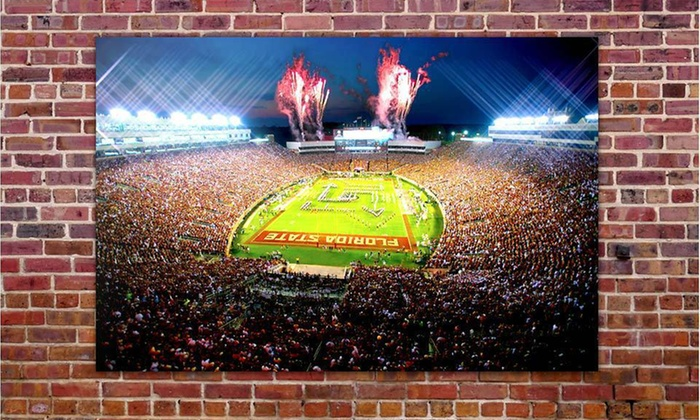 College-Stadium Gallery Wrap: $79 for a College-Stadium Gallery-Wrap ($229 List Price). 25 Stadiums Available. Free Shipping and Free Returns.