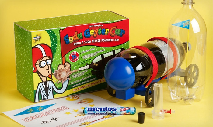 Be Amazing Soda Geyser Car Kit: $19 for a Be Amazing Soda Geyser Car Science Kit ($25 List Price). Free Shipping and Free Returns.