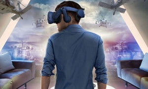 Virtual Reality Escapes: 30- or 60-Minute Virtual Reality Game for One, Two or Four at Virtual Reality Escapes (Up to 32% Off)