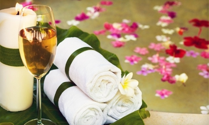 Karma Salon & Spa - Parsippany-Troy Hills: $25 for a Facial, Massage, Makeup Application, and Blow-Dry and Style at Karma Salon & Spa (Up to $200 Value)