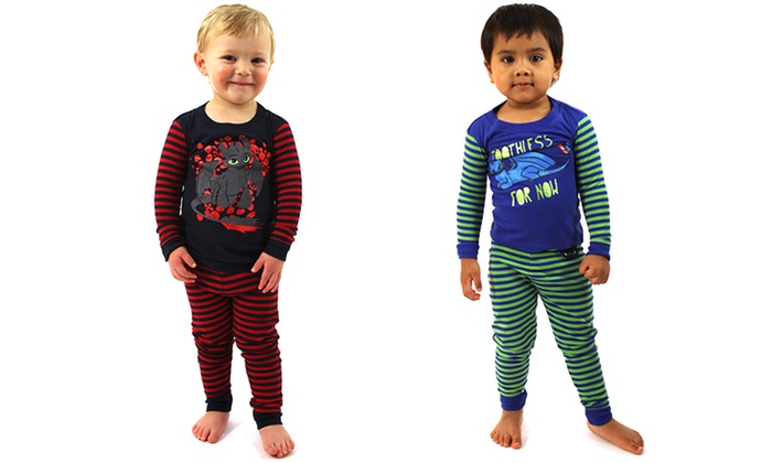 How to train your dragon pajamas groupon goods dreamworks how to train your dragon toddler pajamas ccuart Image collections