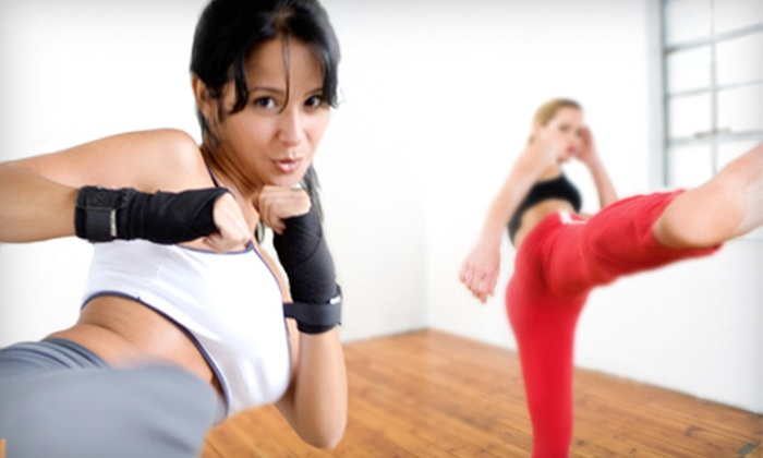Genesis Health Club - West 13th: 10 or 20 MMA Cardio Smash Fitness Classes at Genesis Health Club (Up to 68% Off)