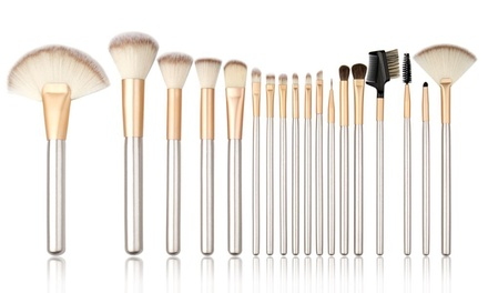 12-Piece Champagne Brush Set