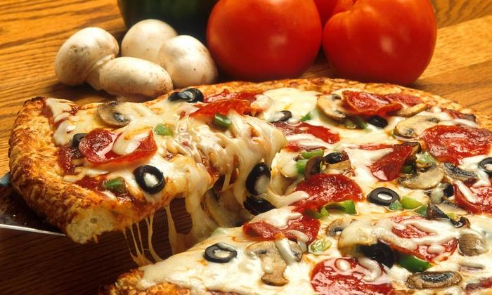 Papa John's - Monroe: Two Large, Three Medium, or Five Large Pizzas from Papa John's (Up to 58% Value)