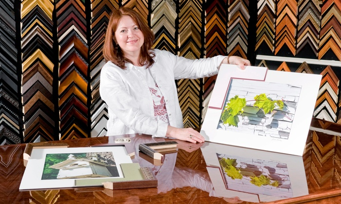 Lorton Art and Framing - Multiple Locations: Custom Framing at Lorton Art and Framing (Up to 80% Off). Three Locations Available.