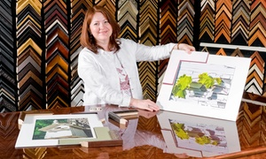 Lorton Art and Framing: Custom Framing at Lorton Art and Framing (Up to 80% Off). Three Locations Available.