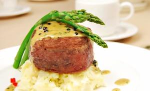 University Chophouse: Steakhouse Dinner for Two or Four at University Chophouse (50% Off)