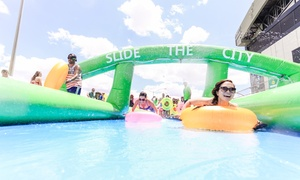 Slide The City: Single Slider, Triple Slider, or Unlimited Slider Package to Slide The City on Saturday, May 21 (Up to 35% Off)