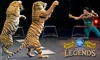 """Ringling Bros. and Barnum & Bailey: Legends - Bridgestone Arena: Ringling Bros. and Barnum & Bailey Presents """"Legends"""" at Bridgestone Arena on January 23 (Up to 49% Off)"""