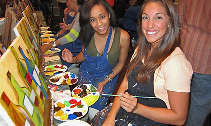 Pinot's Palette - Miamisburg: $23 for a Three-Hour Painting Class at Pinot's Palette ($45 Value)