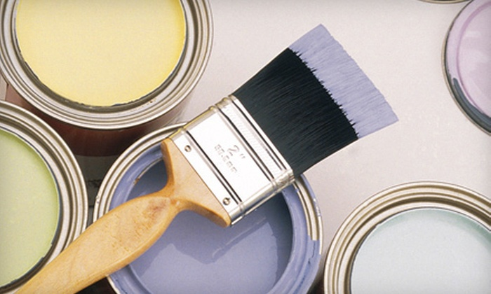 Residential Home Painting - Downtown Providence: Interior Painting for One or Three Rooms from Residential Home Painting (Up to 74% Off)