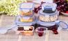 16-Piece Plastic Food Storage Set: 16-Piece Plastic Food Storage Set