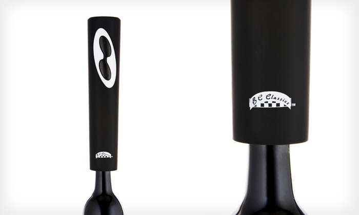 BC Classics Battery-Operated Wine Opener: $10.99 for a BC Classics Battery-Operated Wine Opener ($19.66 List Price). Free Returns.