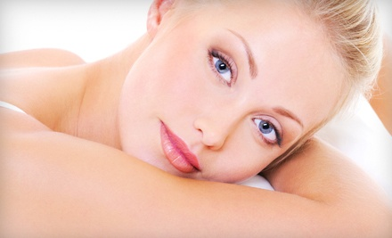 25-Minute Back Massage with Personalized Facial or Mini Facial and Spa Pedicure at Victoria's...