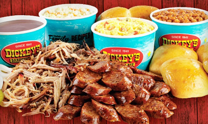 Dickey's Barbecue Pit - Washington Ave./ Memorial Park: $10 for $20 Worth of Barbecued Meats and Sandwiches at Dickey's Barbecue Pit