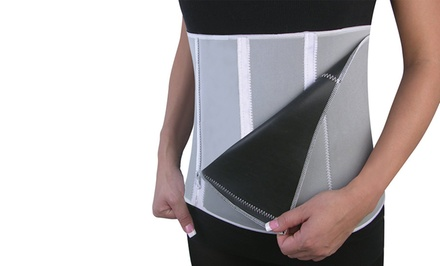 Zip and Slim Waist Trimming Belt