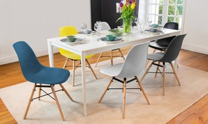 Lot de chaises scandinaves Arkken