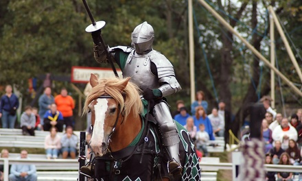 Admission for 1 or 2 Adults or 2 Adults and 2 Kids to Oxford Renaissance Festival, June 24, 25 (Up to 41% Off).