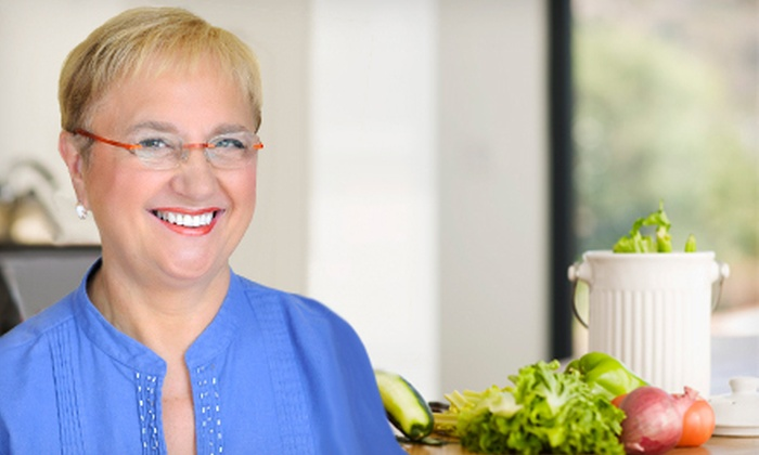 """Lidia Bastianich's Live Cooking Show, """"Lidia Live!"""" - Strip District: """"Lidia Live!"""" Cooking Demo with Option for Dinner Package at the Byham Theater (Up to 51% Off). Three Options Available."""
