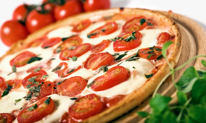 Mangia Pizza Restaurant - Riverdale: Italian Cuisine for Two or More People or Four or More People at Mangia Pizza Restaurant (Half Off)