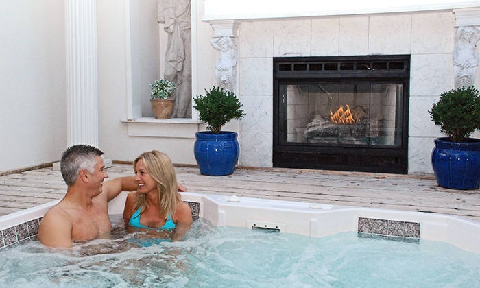 Oasis Hot Tub Gardens - Comstock Park: One-Hour of Hot Tubbing at Oasis Hot Tub Gardens (Up to 50% Off). Three Options Available.