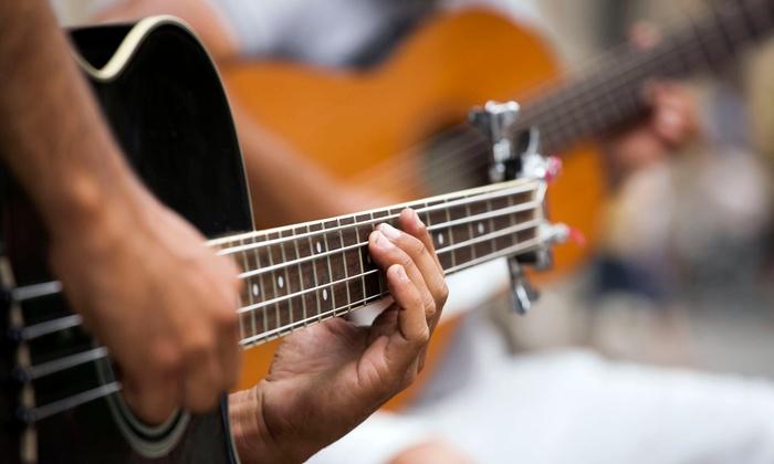 Amari Studios - Sioux Falls: $35 for Four 30-Minute Guitar Lessons at Amari Studios ($66 Value)