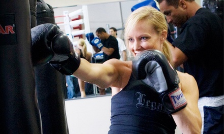 Two or Four Weeks of Boxing, Kickboxing, and Fitness Classes at Legacy Fitness (Up to 88% Off)