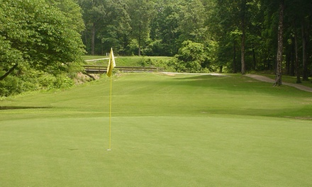 18-Hole Round of Golf for Two or Four Including Cart and Range Balls at Cedar Creek Golf Course (Up to 50% Off)