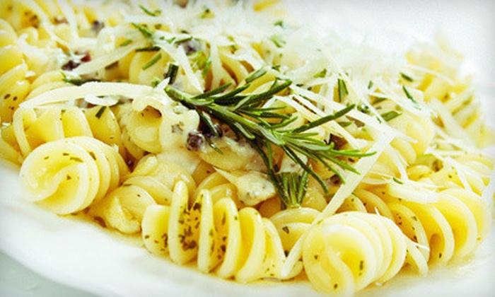 Viva La Pasta - Simi Valley: Italian Cuisine and Drinks at Viva La Pasta (Half Off). Two Options Available.