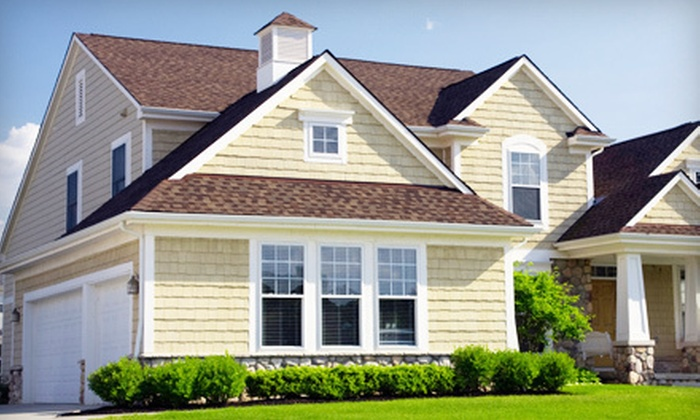 Contrast Cleaning Services - Portland: Pressure Washing of a One- or Two-Story Home of Up to 1,500 Square Feet from Contrast Cleaning Services (Up to 51% Off)