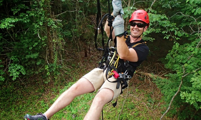 Virginia Canopy Tours - Shenandoah River State Park: $48 for Canopy Zip-Line Tour at Virginia Canopy Tours ($84 Value)