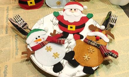 Set di portaposate natalizie