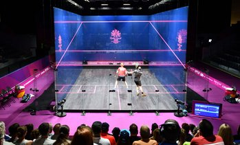 One-Hour Squash Court Hire