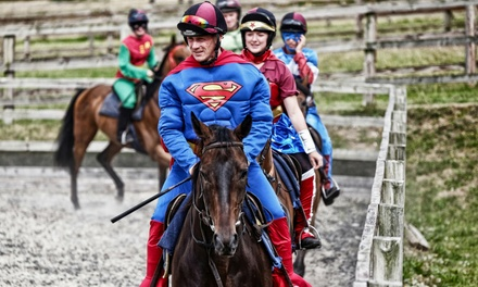 Superheroes Return Family Fun Day, 2 September at Sandown Park Racecourse (Up to 38% Off)