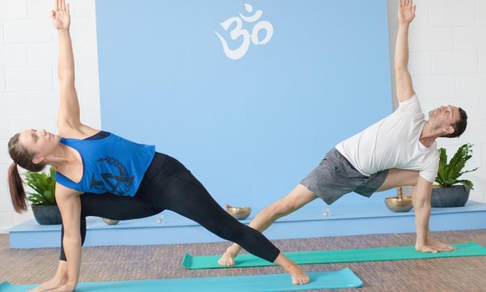 One Month Unlimited Yoga Classes Bodhi Yoga Studio Groupon