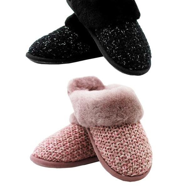 83eca2cc7fe Free Shipping: $49.95 for Women's Waratah UGG Sheepskin Knit Scuffs (Don't  Pay $169)