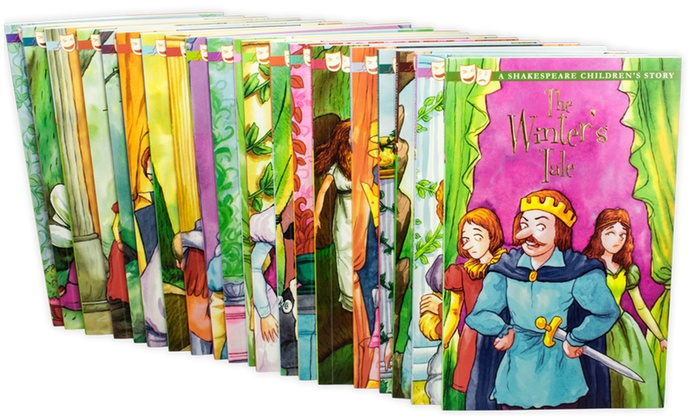 Shakespeare 20 Book Set For Kids Groupon Goods