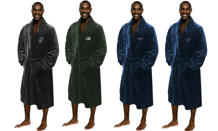 NFL Silk Touch Lounge Robe