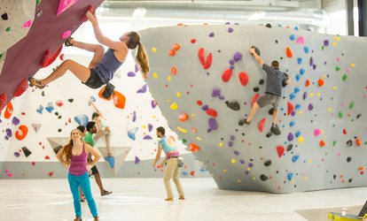 Learn to Belay Package or 30-Day Individual <strong>Climbing</strong> Membership at Momentum Indoor <strong>Climbing</strong> (Up to 60% Off)