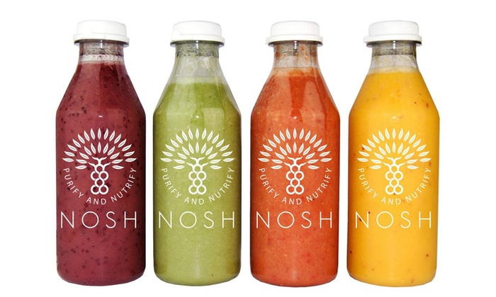 Nosh Detox: Up to £100 to Spend on Juice Cleanses, Diet Plans and More at Nosh Detox With Free Delivery (Up to 51% Off)